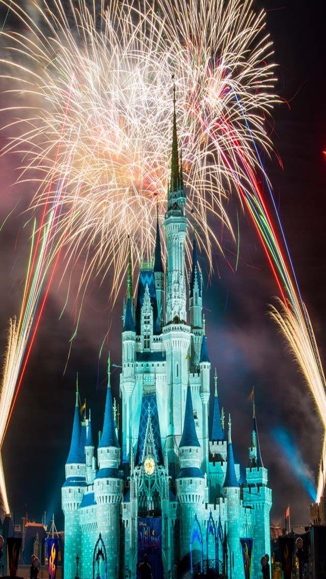 Magic Kingdom IPhone Wallpaper Pinterest 640x1136