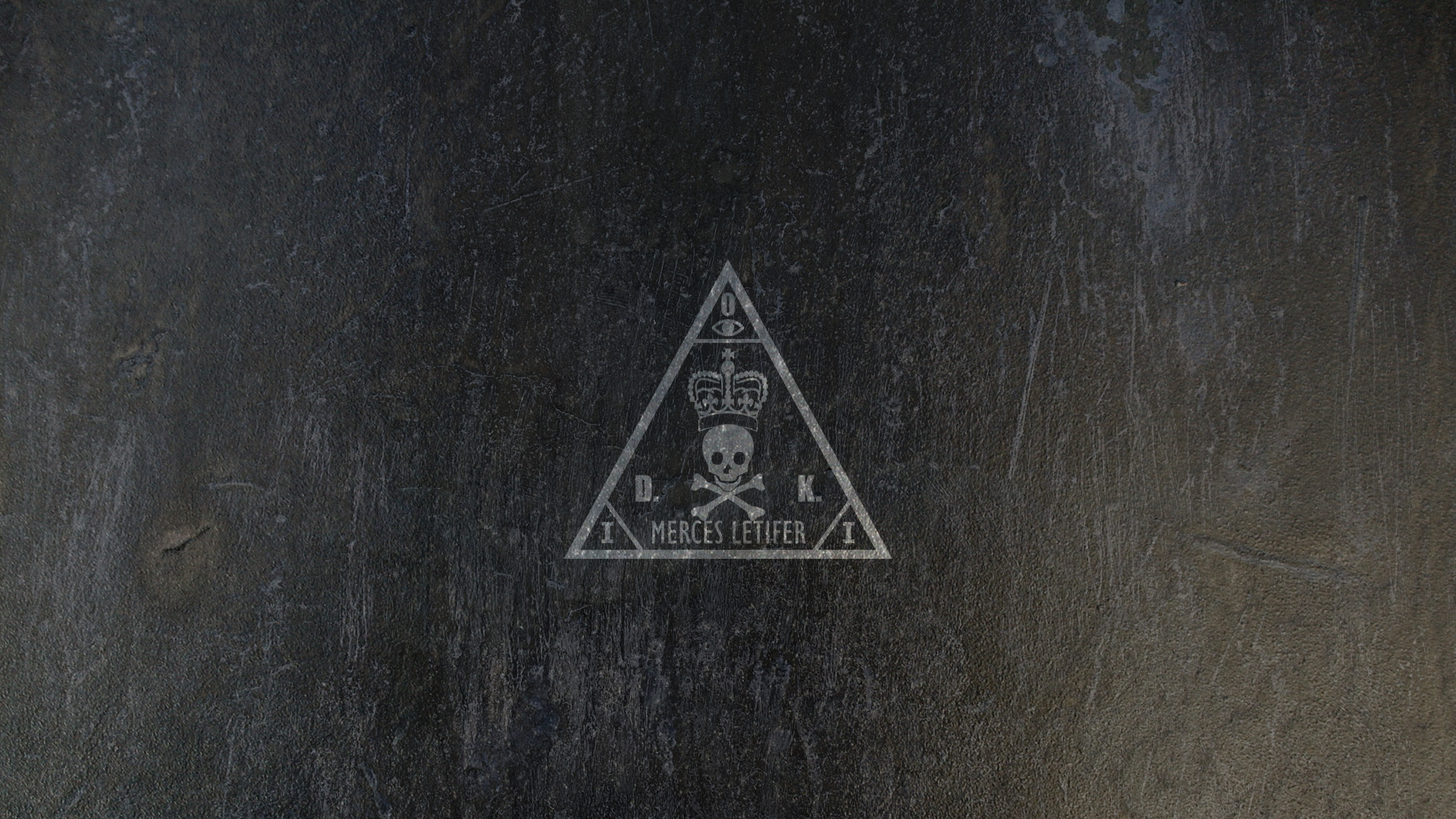 1600dhitman agency logo wallpaper  metal  by bryssis d52w8kcjpg 1920x1080