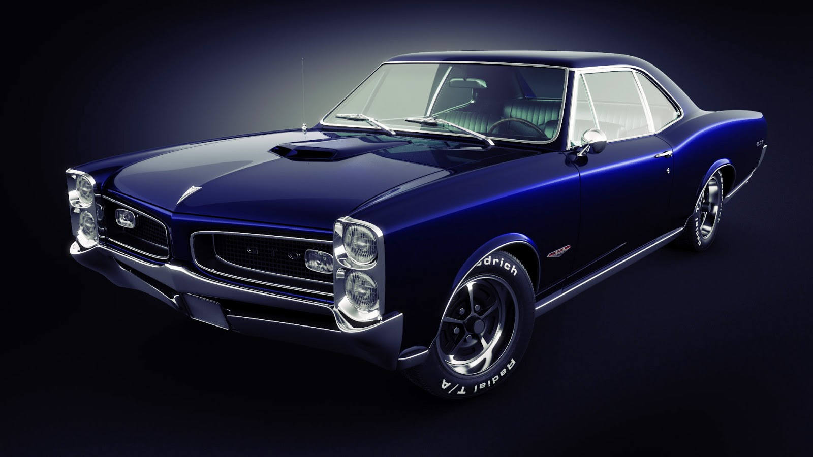 Carros Envenenados Pontiac GTO   Muscle Car 1600x900