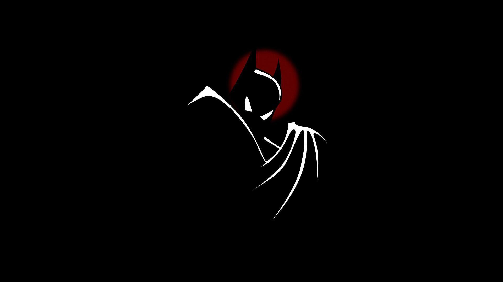 cute batman cartoon wallpaper