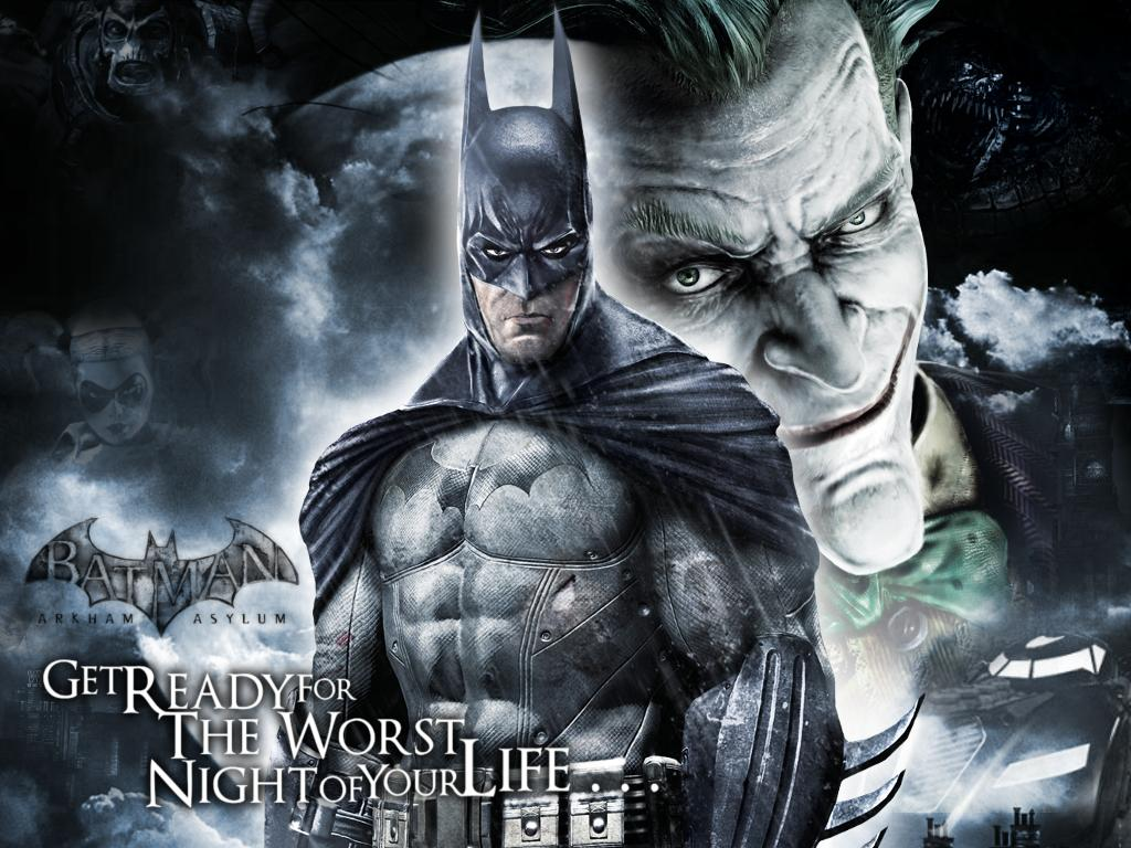 Batman Arkham Asylum Wallpapers 1024x768