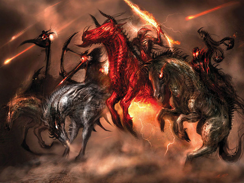 Four Horsemen of the Apocalypse wallpaper   ForWallpapercom 808x606