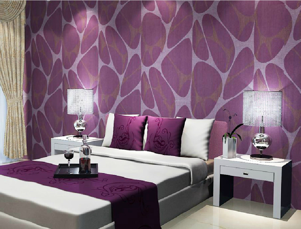 purple room wallpaper wallpapersafari