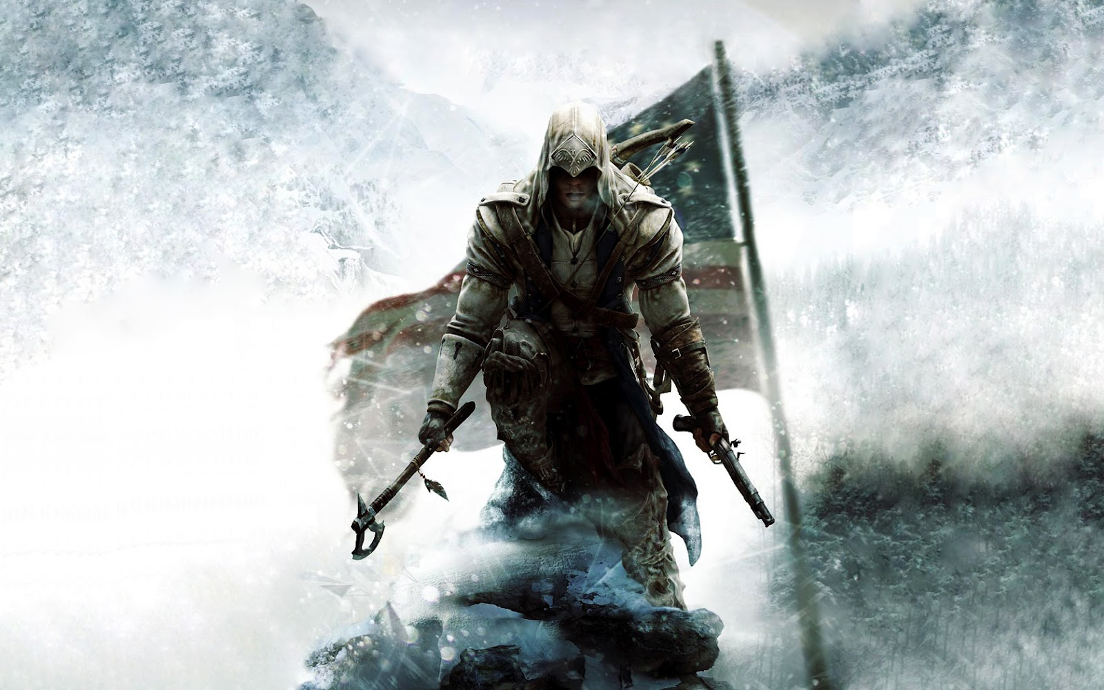 Assassins Creed III New Game HD Wallpapers HD Wallpapers 1600x1000