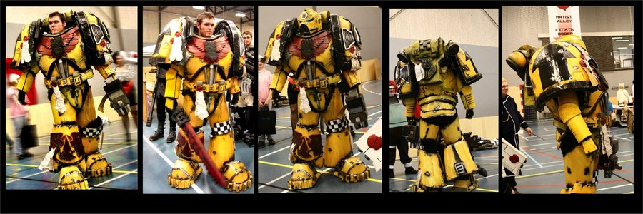 Imperial Fist Costume by Dezelith 900x300
