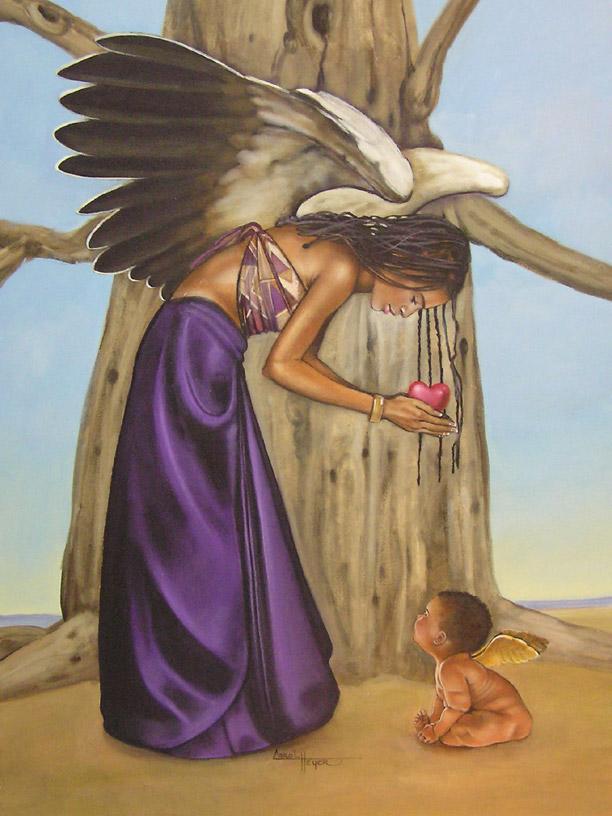 African American Angels Wallpaper Wallpapersafari