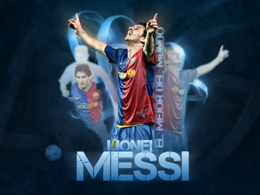 Lionel Messi Wallpaper   Spirit Players 1024x768