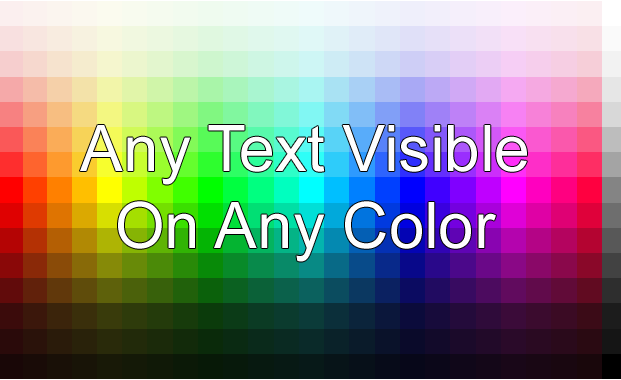 Make Any Text Visible On Any Color Background TechnoArea 621x380