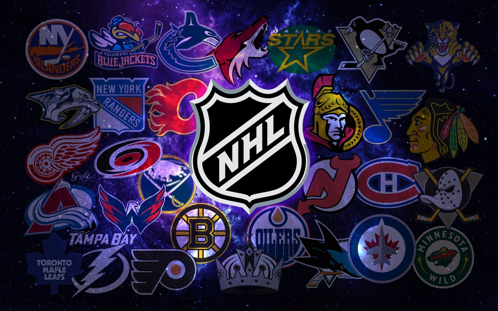 45 New Nhl Logo Wallpaper On Wallpapersafari
