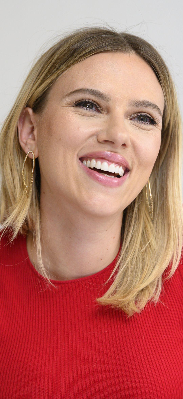 Scarlett Johansson smile face wallpaper Scarlett johansson 1080x2340