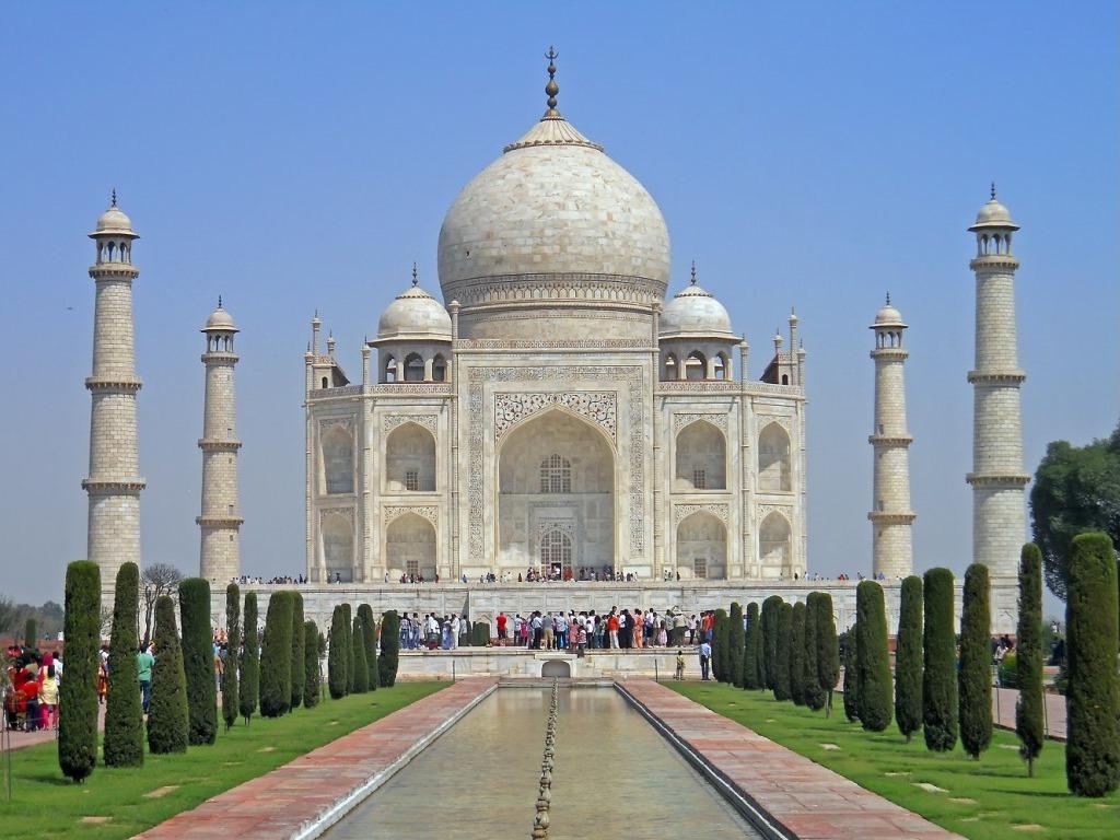 Taj mahal hd wallpaper wallpapersafari - Taj mahal background hd ...