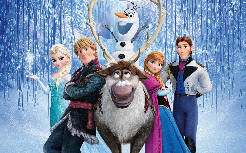 Frozen Elsa Anna Olaf Hans Kristoff Cartoon Cartoons 2880x1800 2880x1800