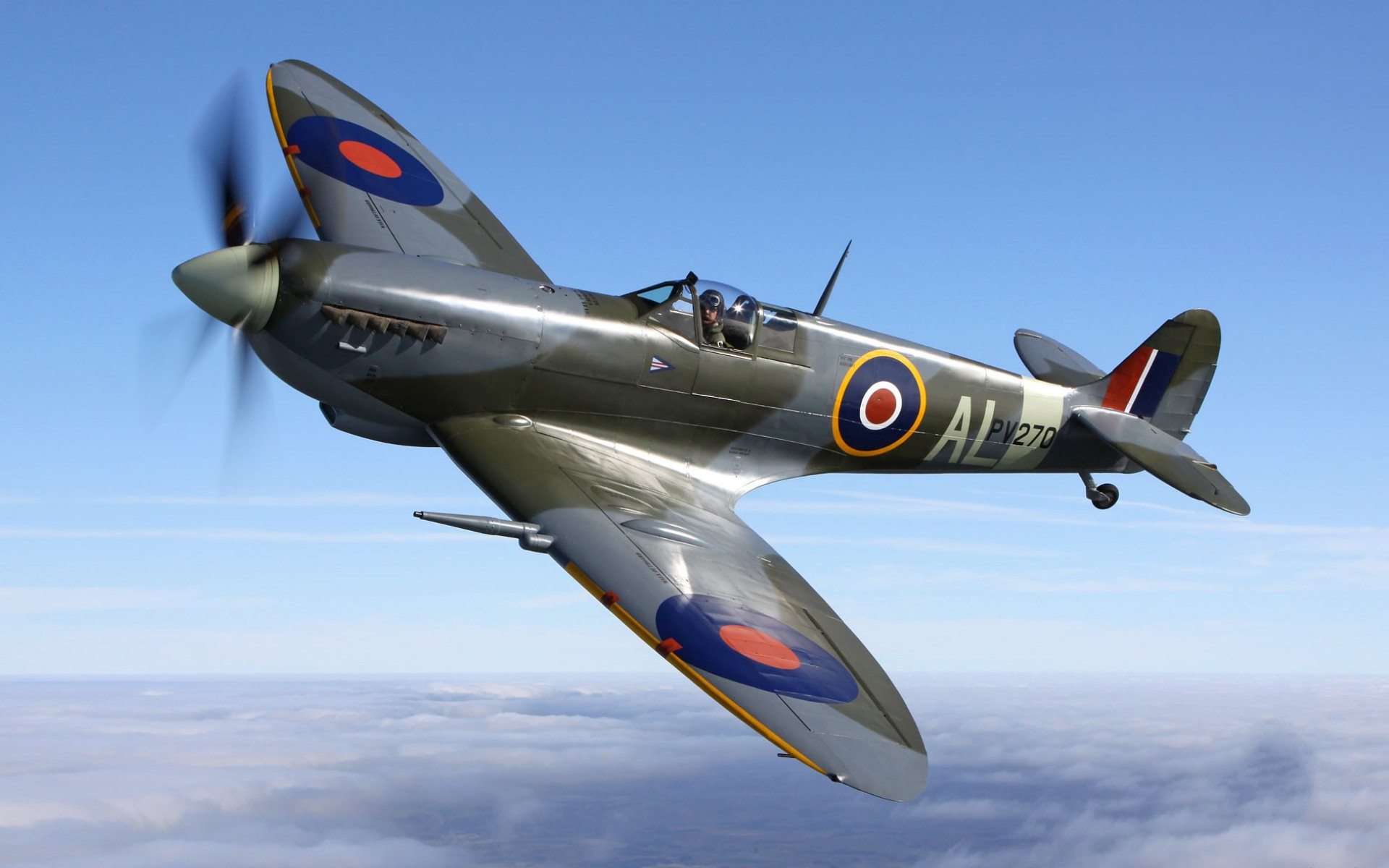 Pics Photos   Aircraft Supermarine Spitfire Wallpaper 1920x1200