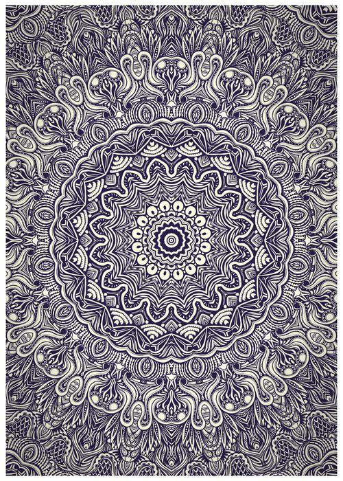 mandala Tumblr Mandalas Pinterest 500x700