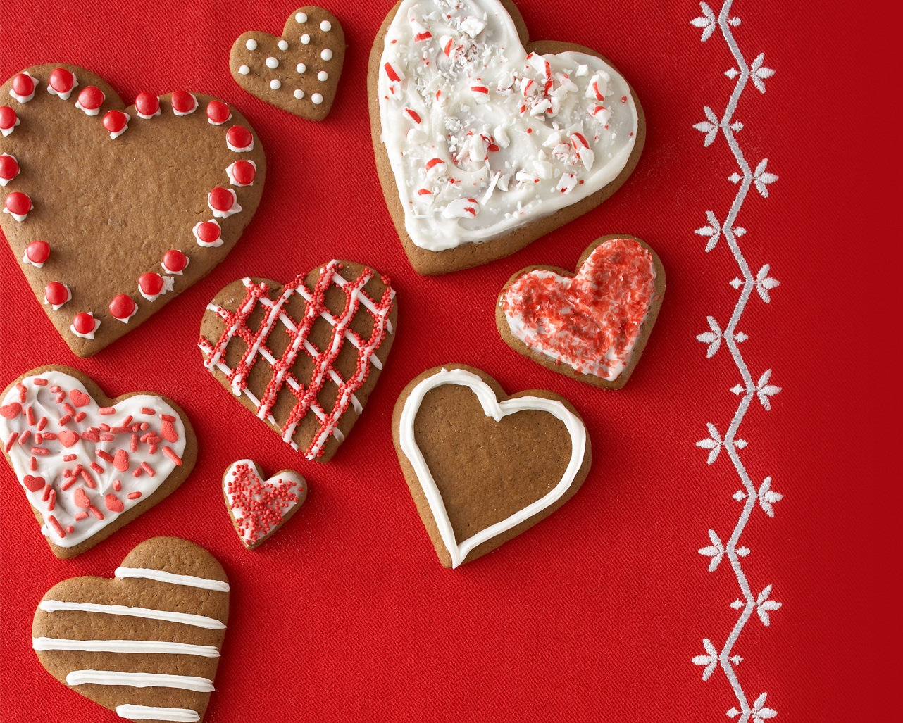 Cookies Valentines Day Wallpaper For Desktop   Cute Valentines Day 1282x1027