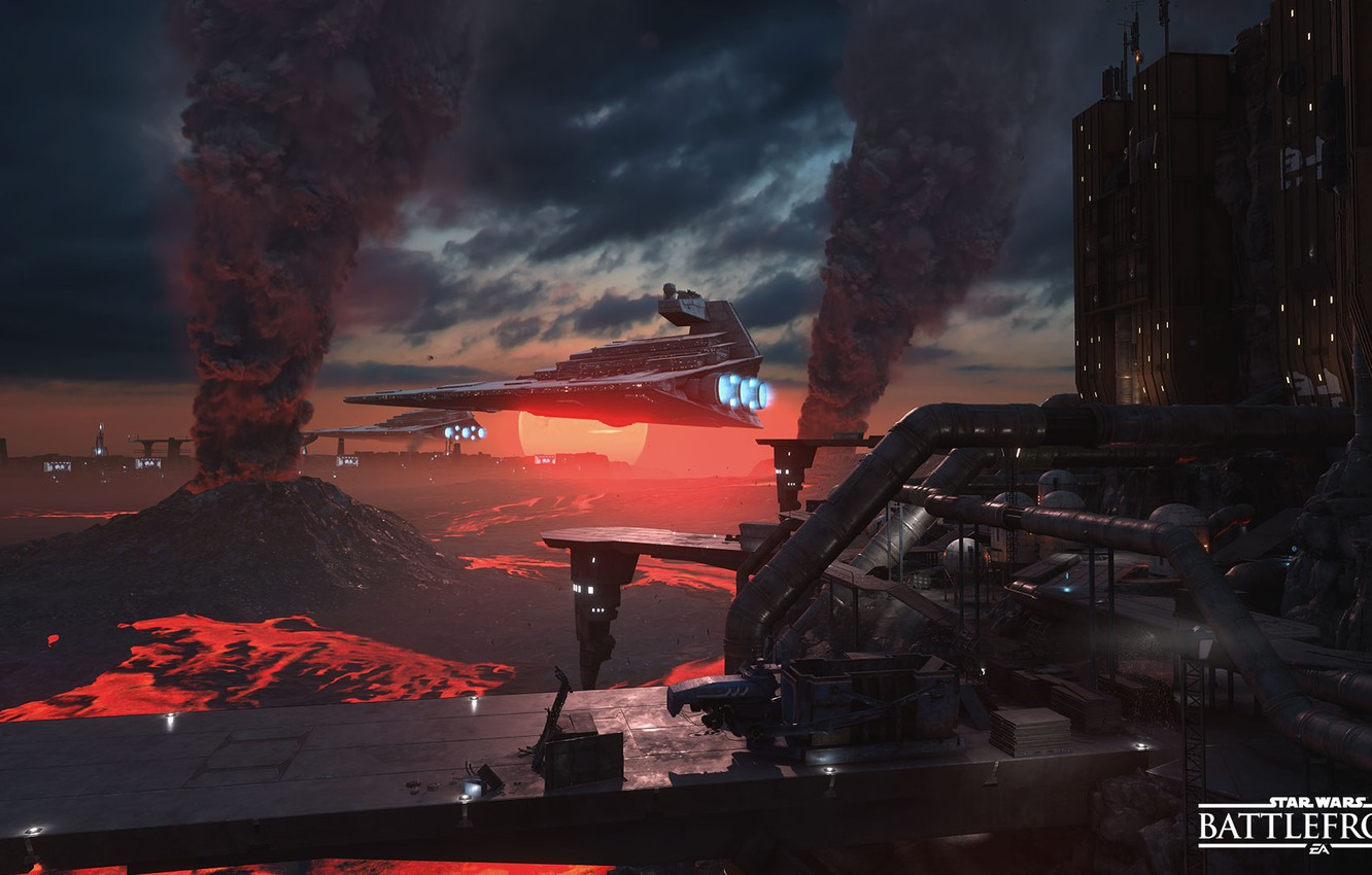 Wallpaper game Star Destroyer Star Destroyer Electronic Arts 1332x850