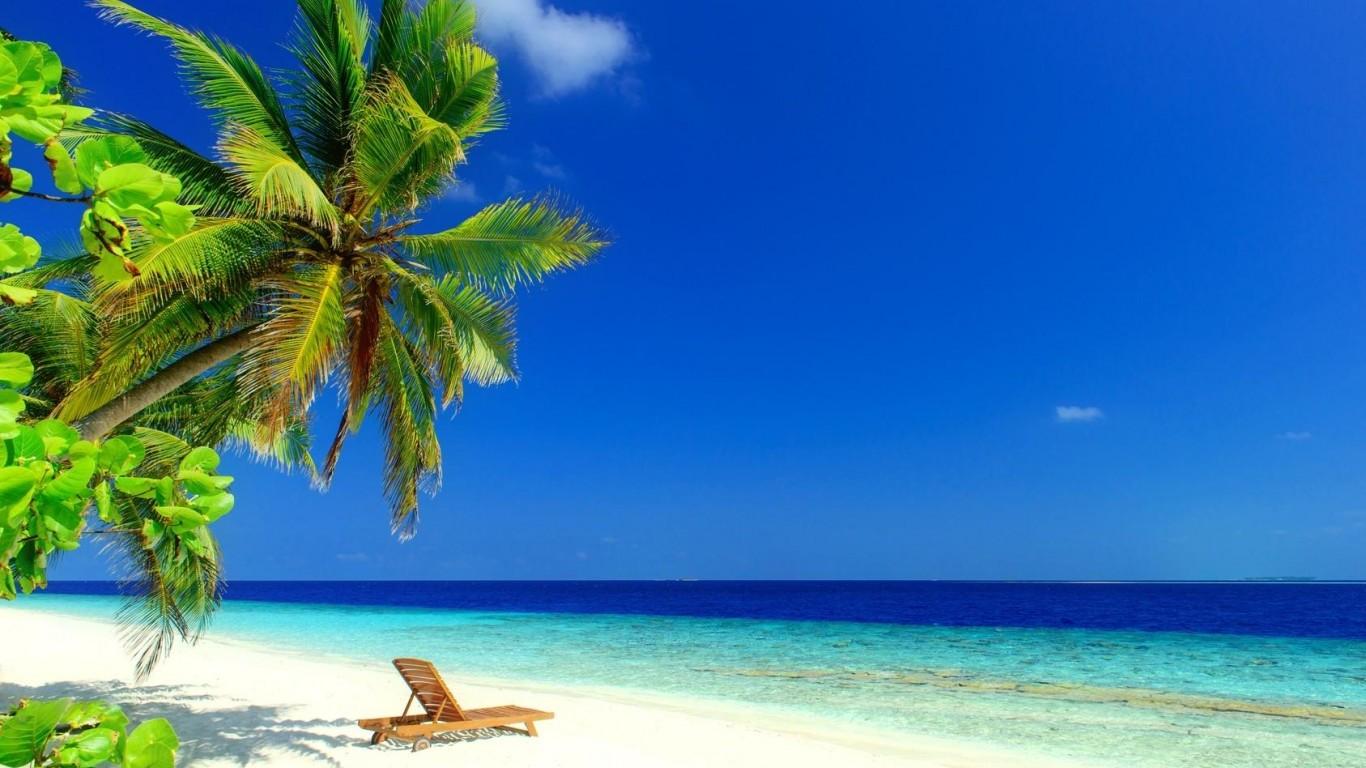 Caribbean rest 1366x768 wallpaper download 1366x768