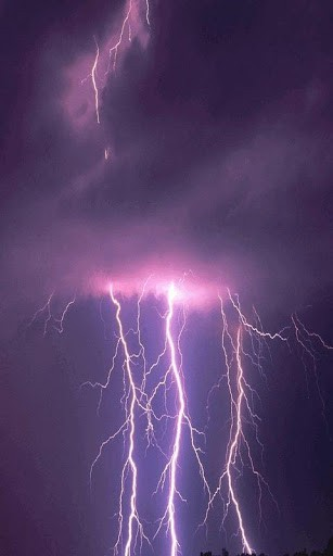 live lightning wallpaper wallpapersafari