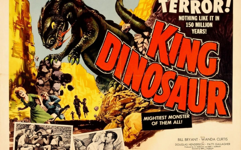 vintage king cinema movie posters king dinosaur 1440x900 wallpaper 1440x900