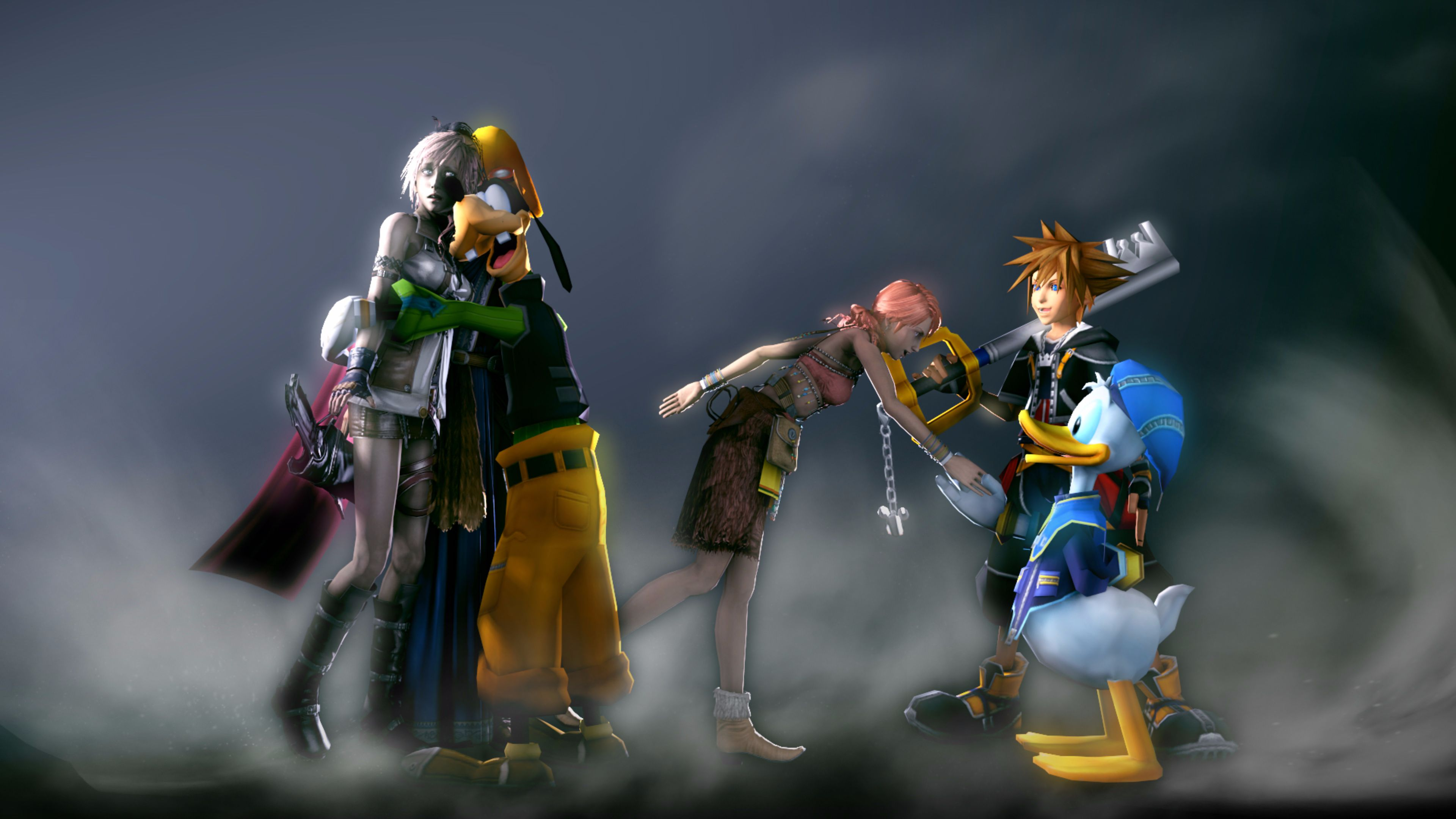 Kingdom Hearts Hd Wallpaper Wallpapersafari