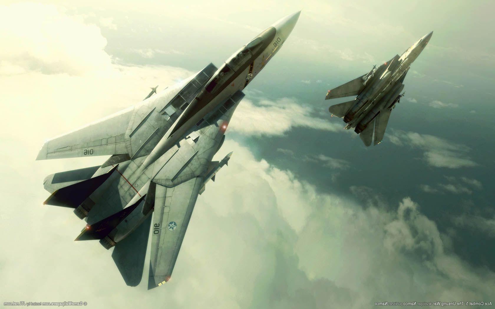 Ace Combat Ace Combat 5 The Unsung War F 14 Tomcat 1680x1050