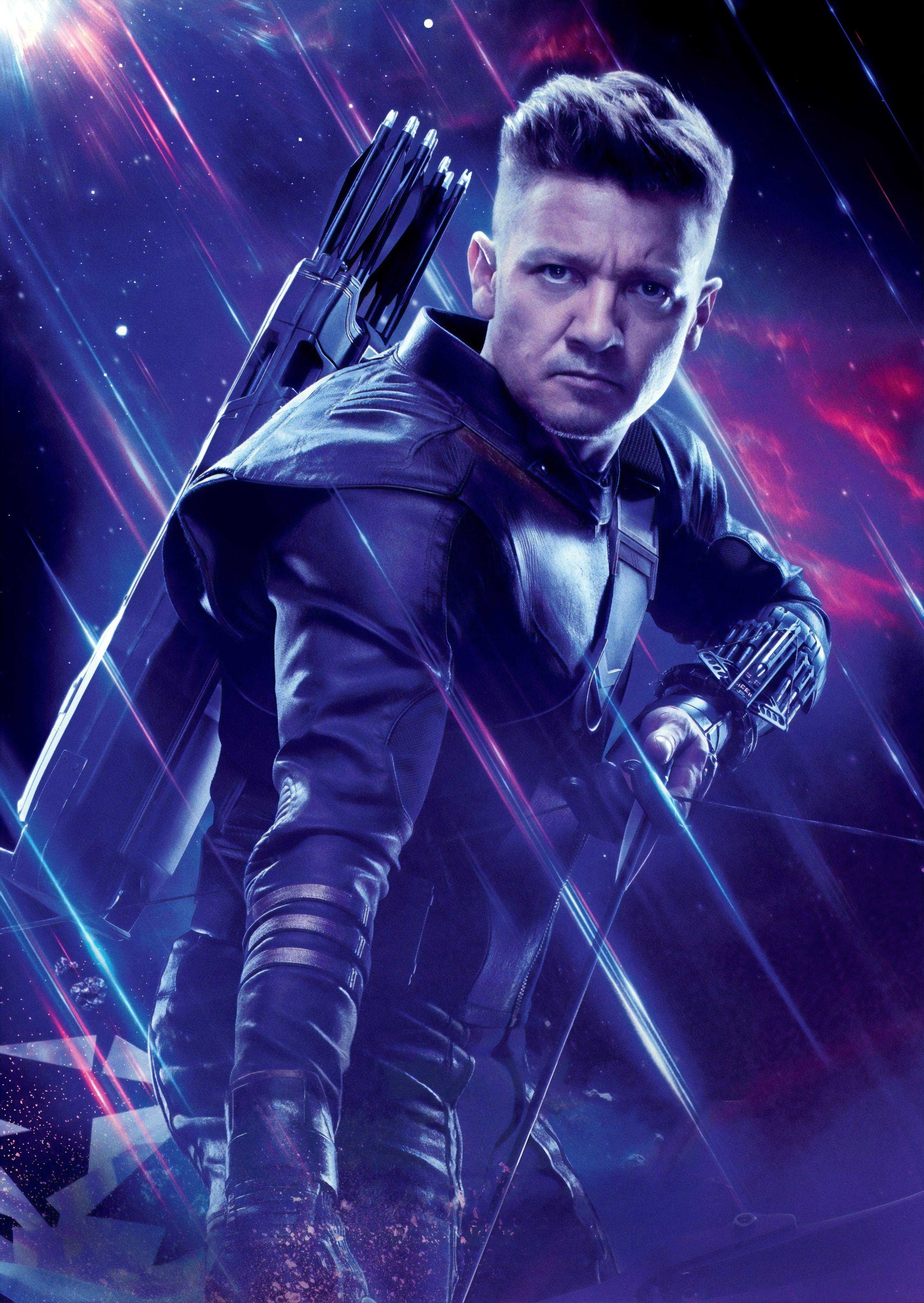 Hawkeye in Avengers Endgame Wallpaper HD Movies 4K Wallpapers 3547x5000