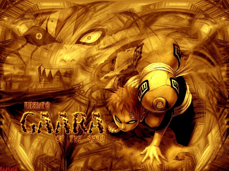 Wallpapers Naruto y Gaara 800x600