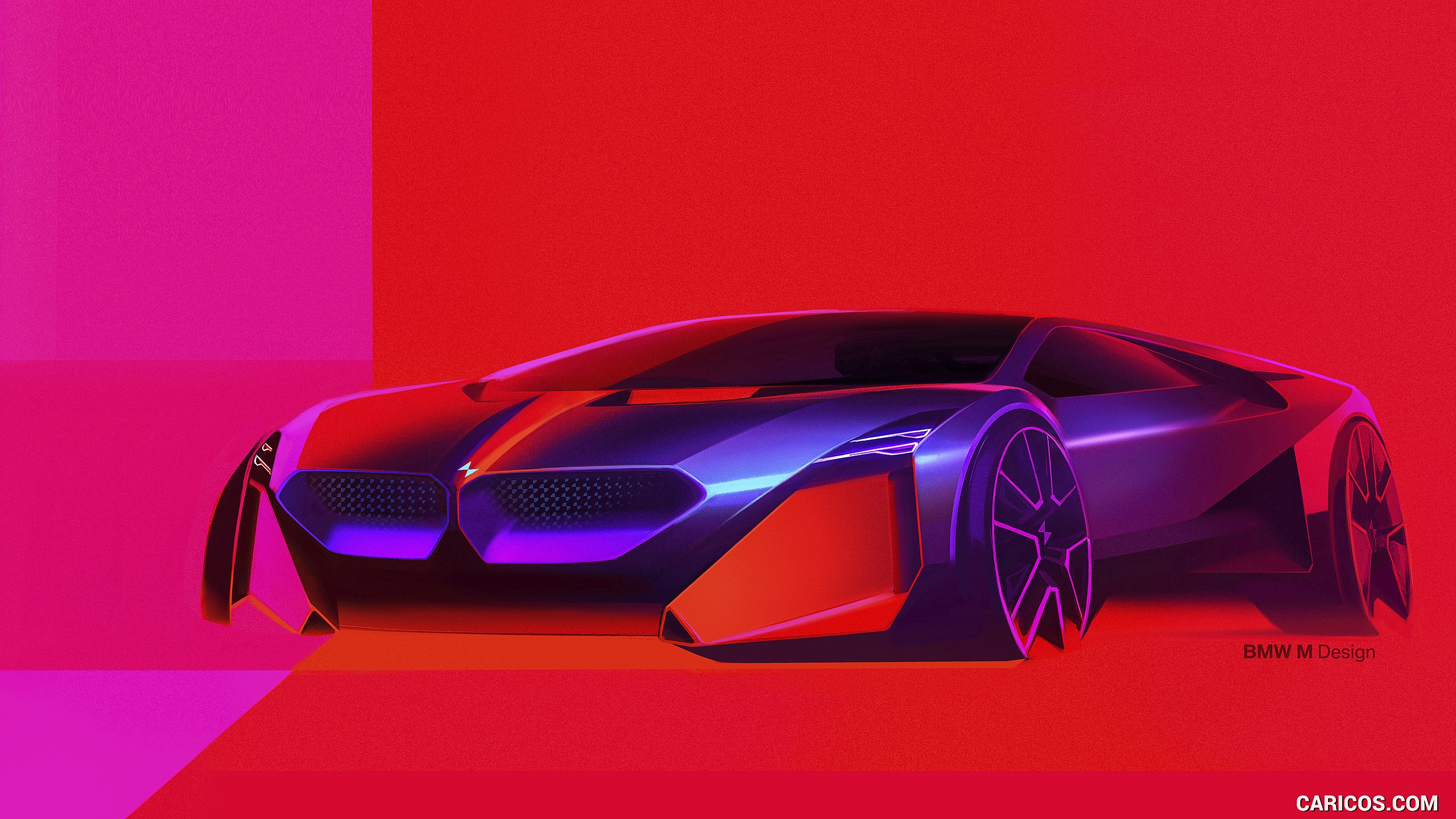 2019 BMW Vision M Next   Design Sketch HD Wallpaper 61 2560x1440
