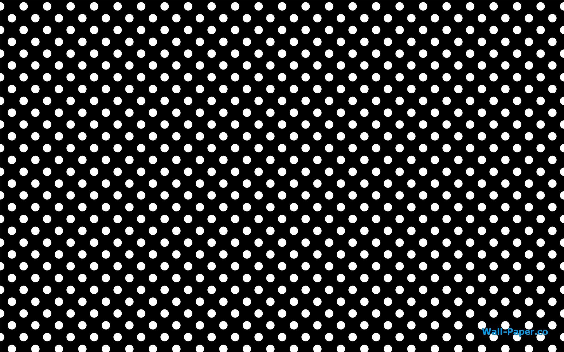 Black and white polka dot wallpapers 5 wallpapers hd for Polka dot wallpaper
