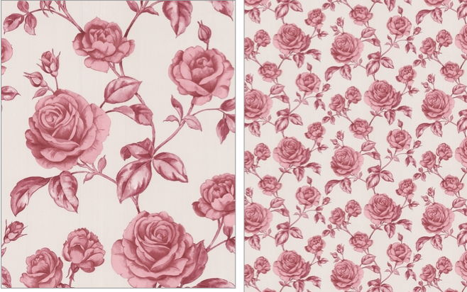 wallcoverings wallpapers walls traditional patterns roses wallpaper 658x412