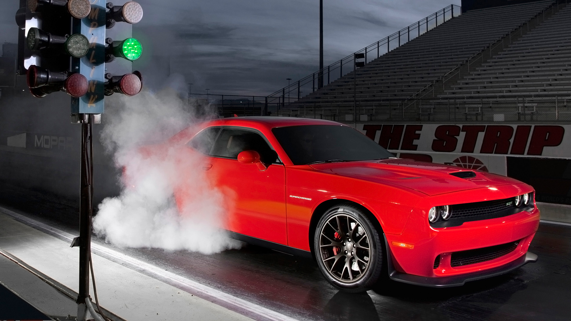 2015 Dodge Challenger SRT Burnout Wallpaper HD Car Wallpapers 1920x1080