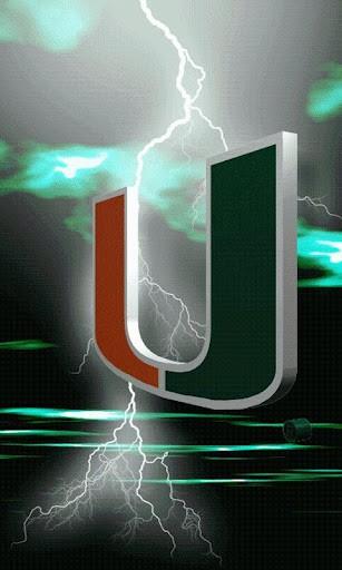 Miami Hurricanes Logo Wallpaper View bigger   miami hurricanes 307x512