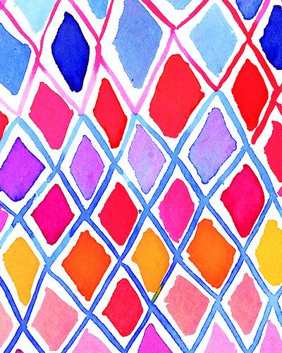 harlequin pattern 400x500