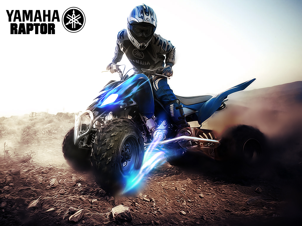 Wallpaper Yamaha Raptor by fustersiito 1024x768
