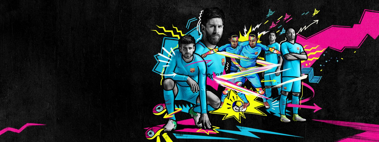 FC BARCELONA 20172018 KIT Picture Farm Production 1600x600