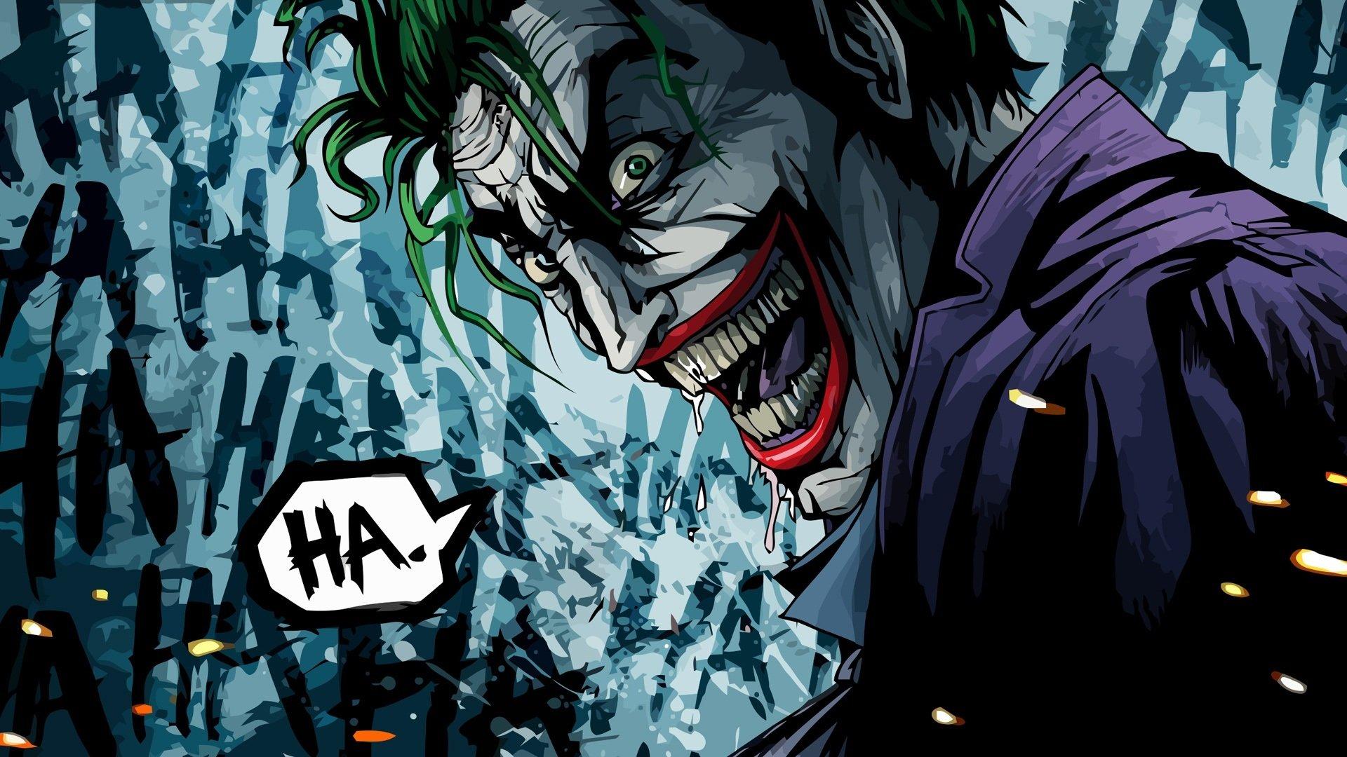 The Joker The Killing Joke version HD Wallpaper Wallpapers 1920x1080