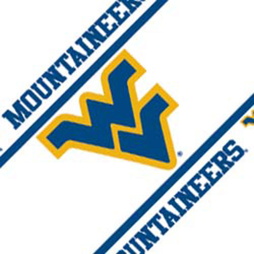 NCAA West Virginia Mountaineers Self Stick Wall Border   Contemporary 500x500