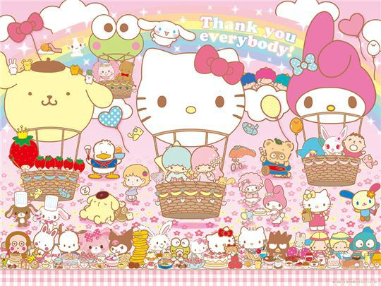 50 Sanrio Characters Wallpaper On Wallpapersafari