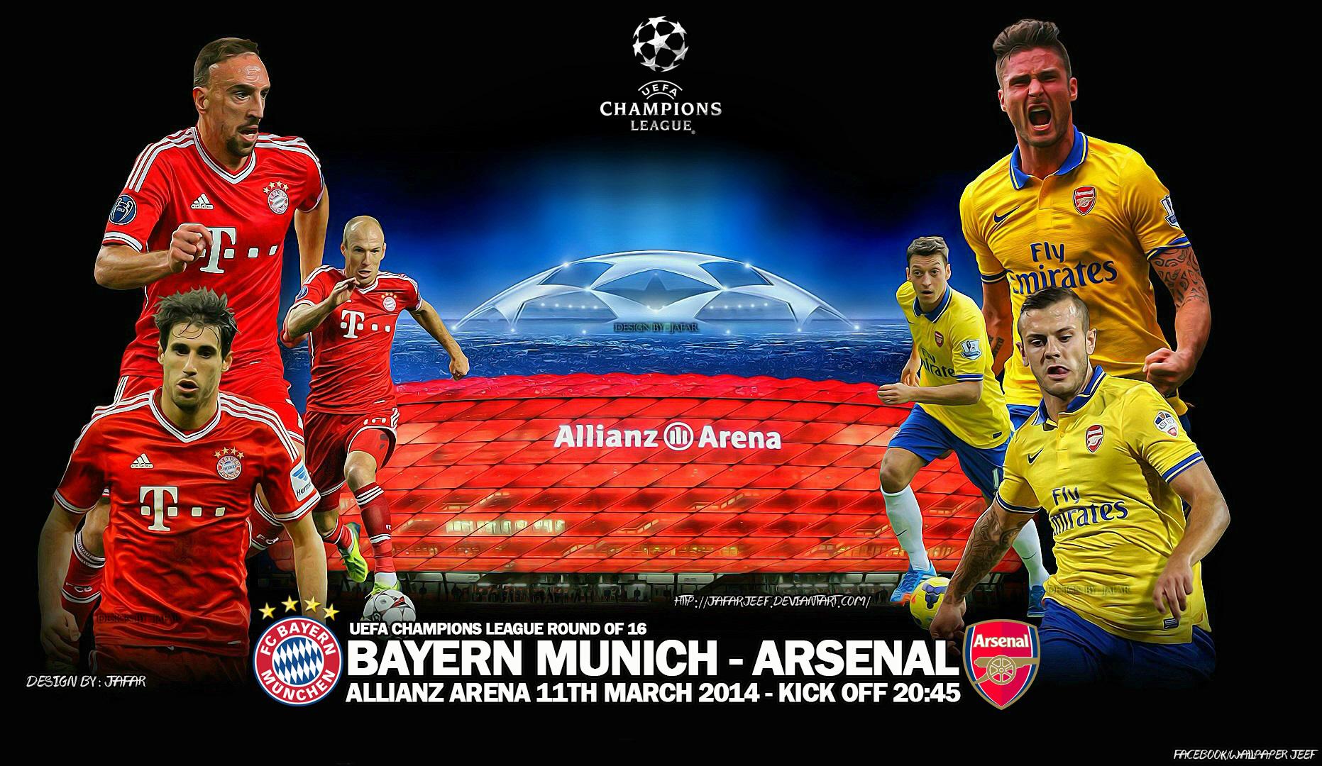 Bayern Munich Arsenal Wallpaper 2014 1jpg 1863x1080