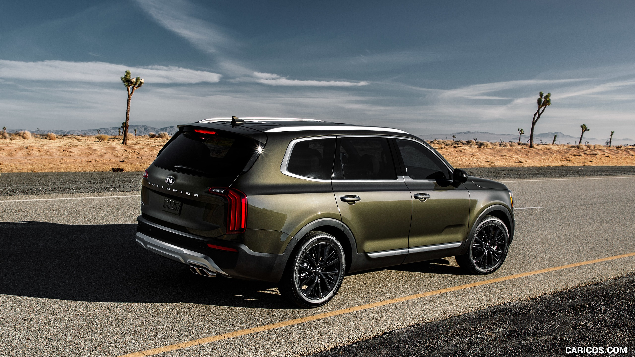 2020 Kia Telluride   Rear Three Quarter HD Wallpaper 3 2560x1440