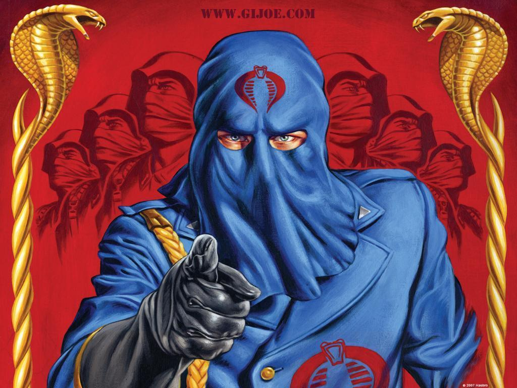Cobra Commander   GI Joe Wallpaper 3981525 1024x768