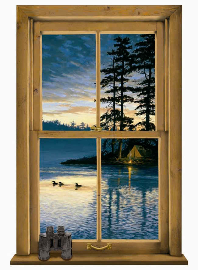 Log Cabin Scenic Wall Mural   Lodge Outdoors Wallpaper 650x887