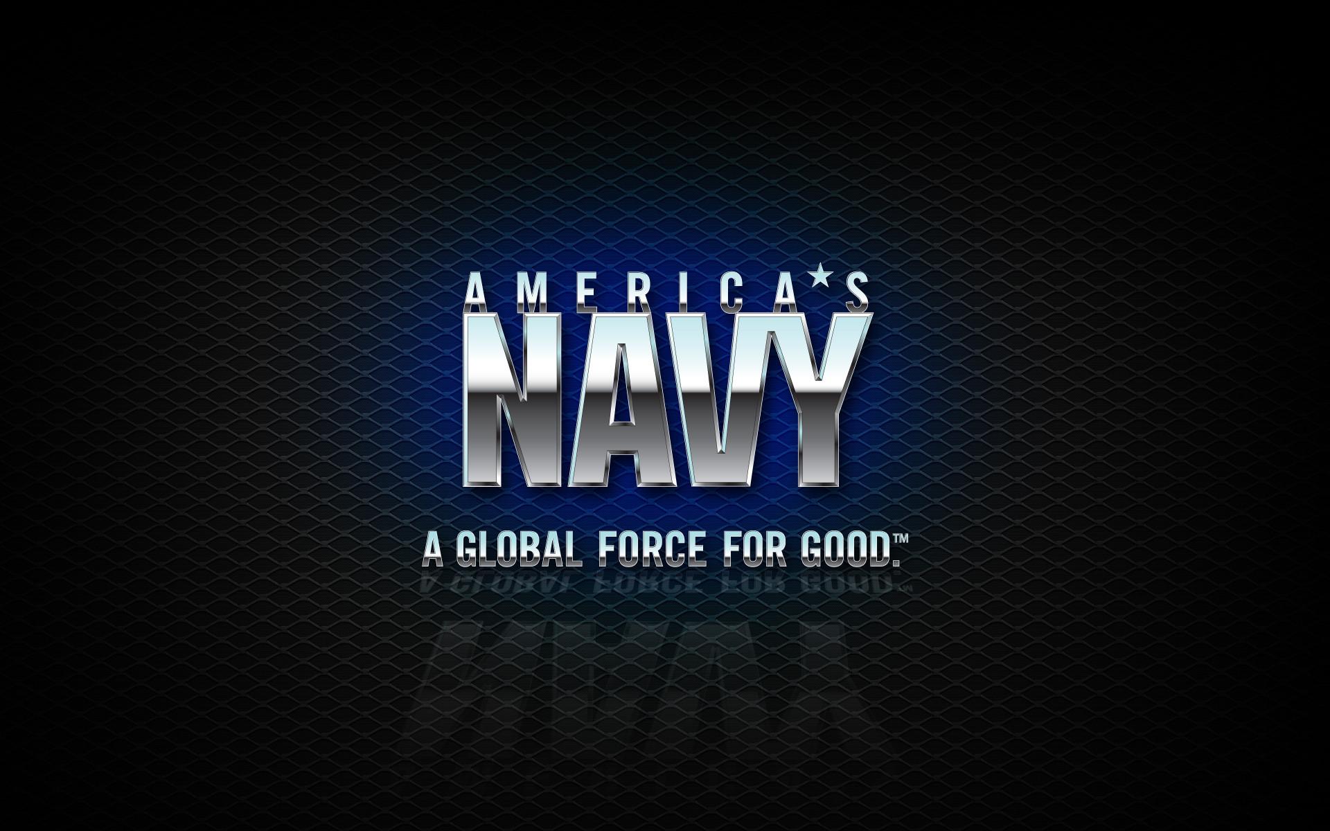 US Navy Images Logo Wallpaper 1920x1200