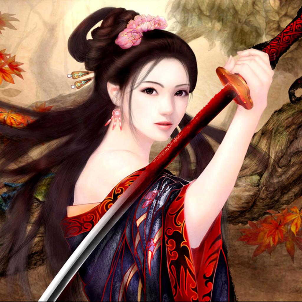 45 azijskih ženskih bojevskih ozadij na ozadjuafari-2163