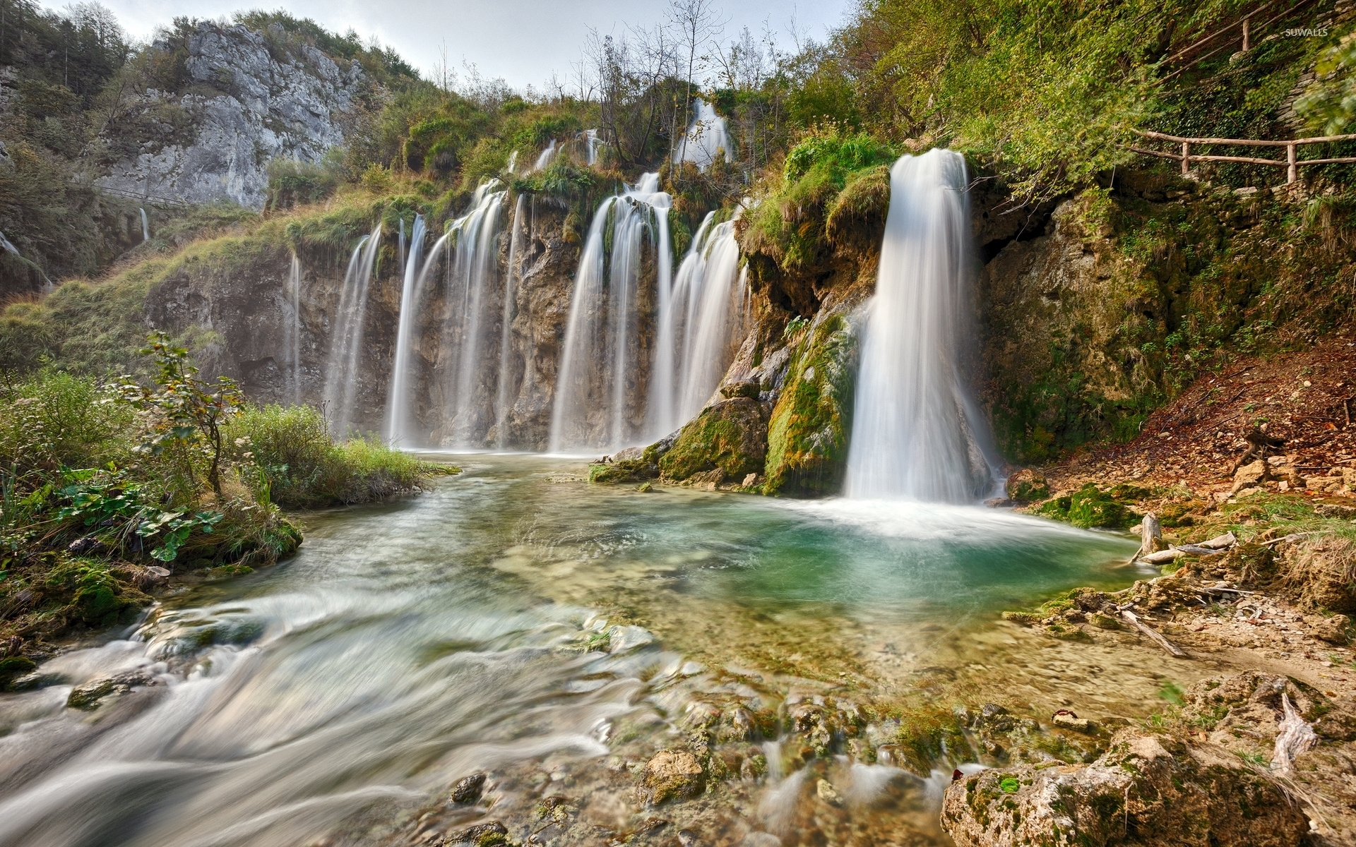 Plitvice Lakes National Park [6] wallpaper   Nature wallpapers 1920x1200