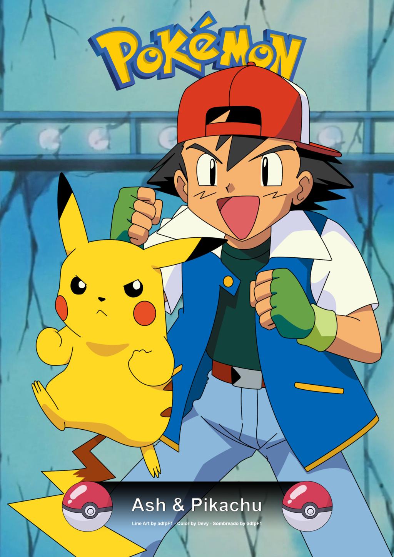 Ash and Pikachu Wallpaper - WallpaperSafari