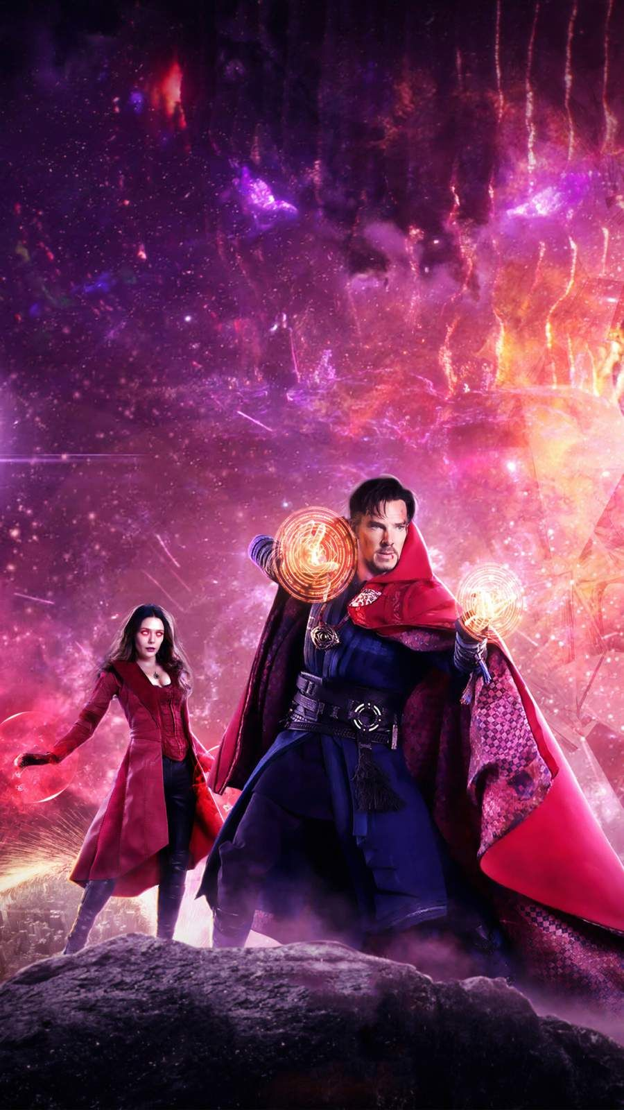 Doctor Strange in the Multiverse of Madness Art iPhone Wallpaper 900x1600