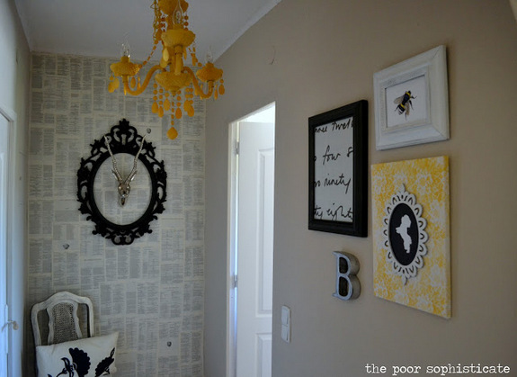 the poor sophisticate DIY Epic 2 Removable Wallpaper and Paste 575x419