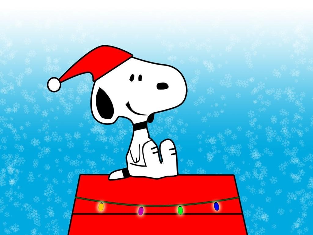 Snoopy christmas wallpaper backgrounds   Pics wallpaper 1024x768
