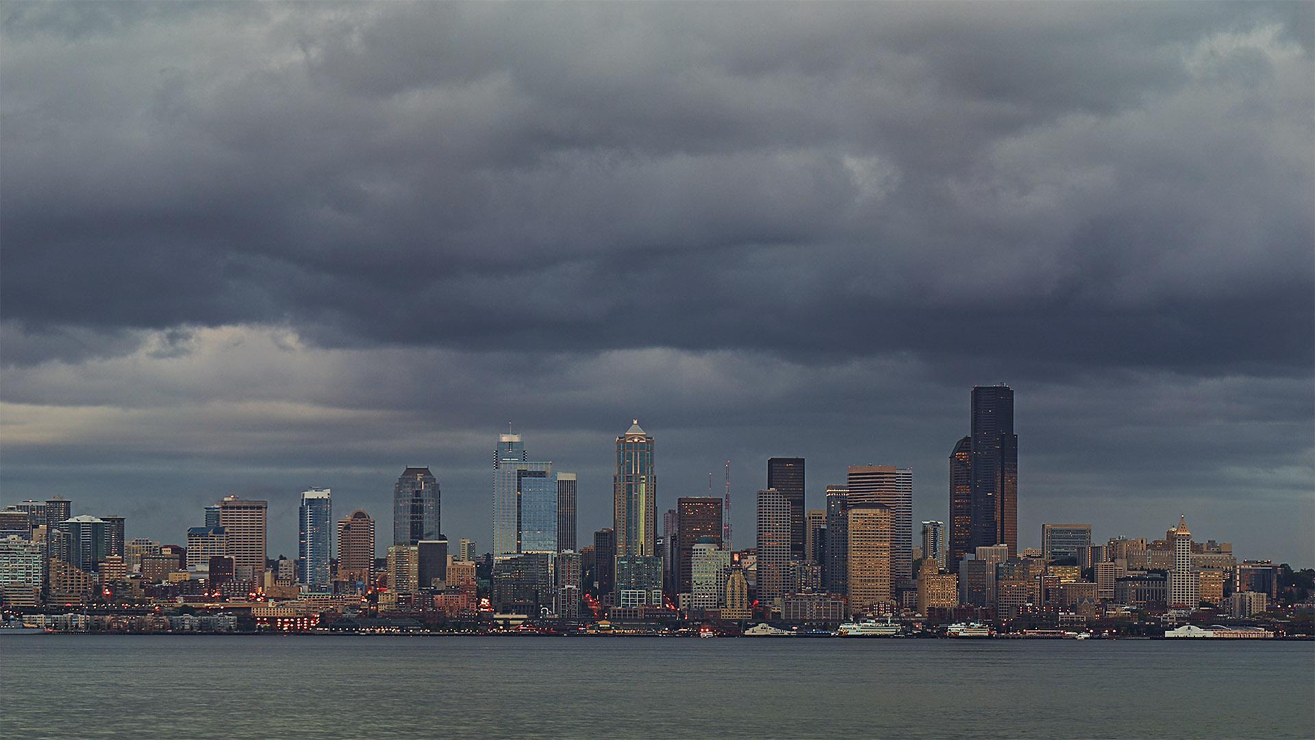 35 Hd Seattle Skyline Wallpapers On Wallpapersafari